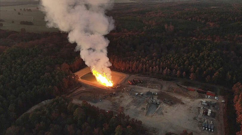 Already Burning for a Month, Fracked Gas Blowout in Louisiana Could Last Two More Months