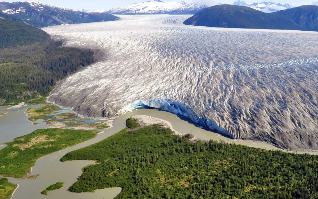 Mighty glacier finally succumbs to climate change