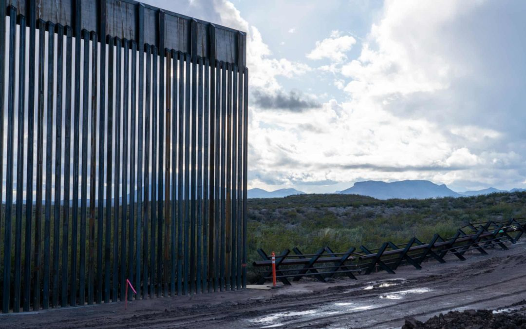 Water-guzzling demands of Trump's border wall threaten fish species