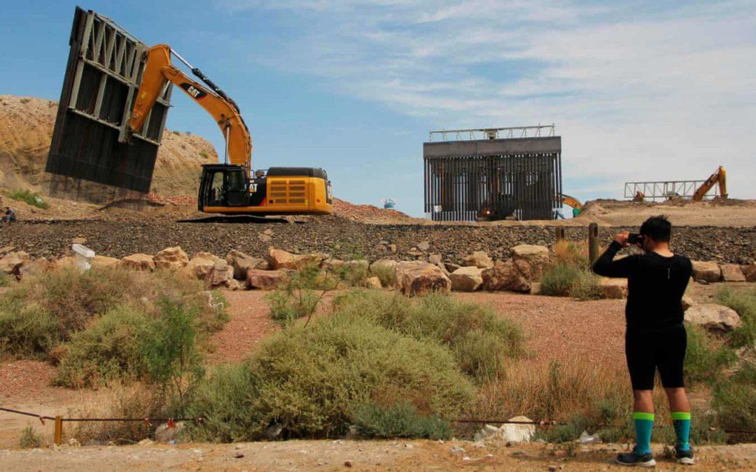 Private border wall construction continues despite court order