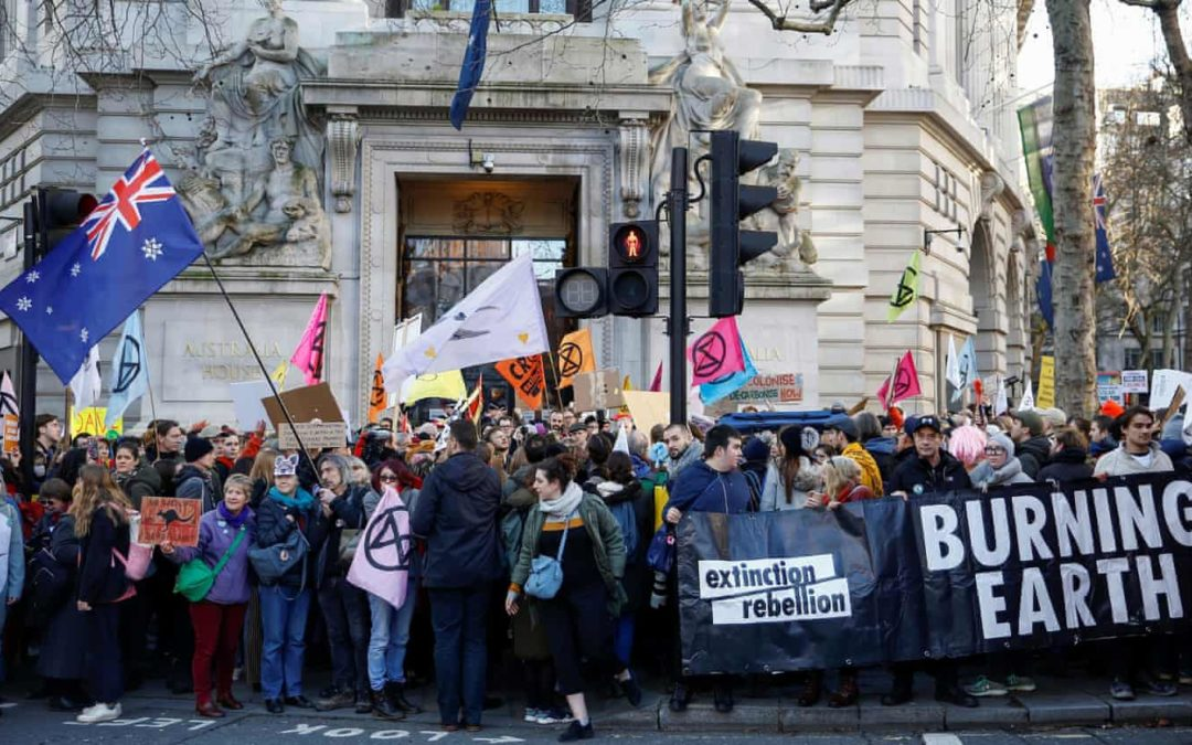 Terrorism police list Extinction Rebellion as extremist ideology