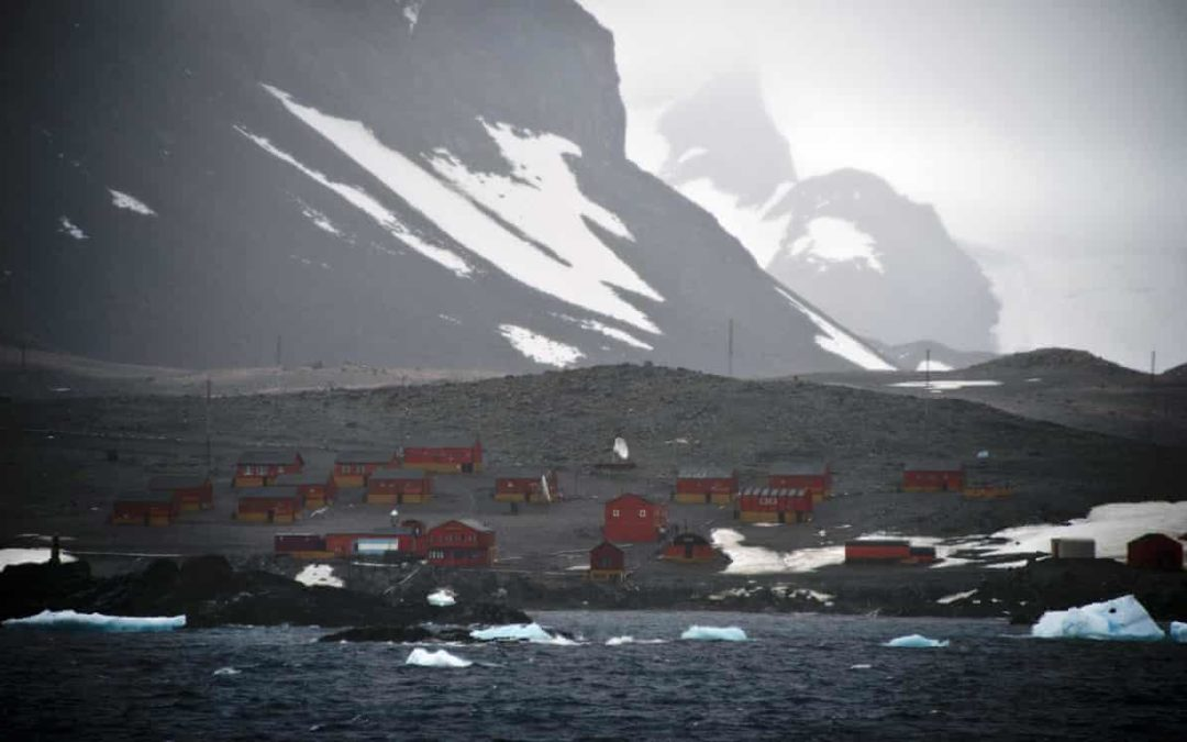 Antarctica logs hottest temperature on record with a reading of 18.3C