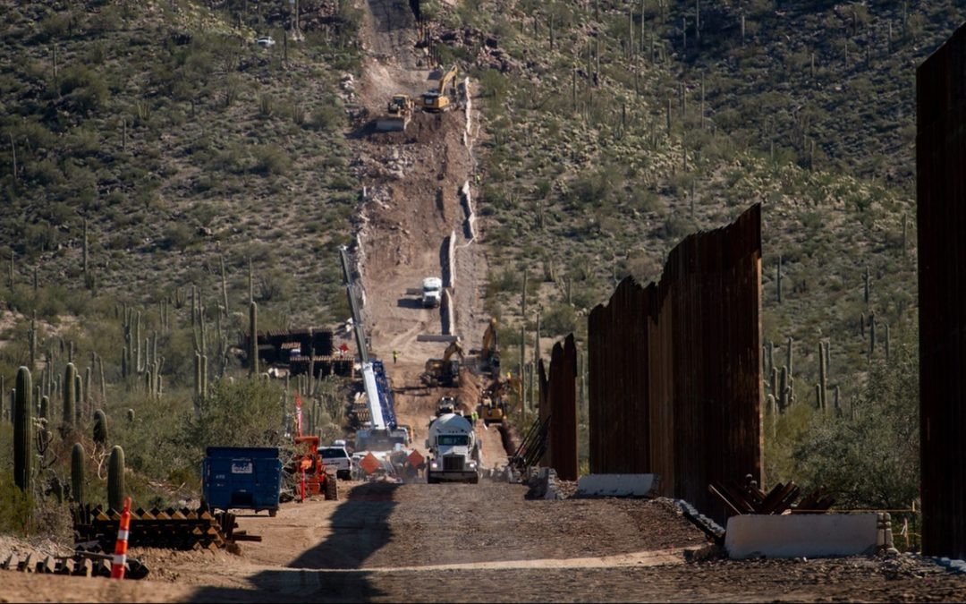 Trump is blowing up a national monument in Arizona to make way for the border wall