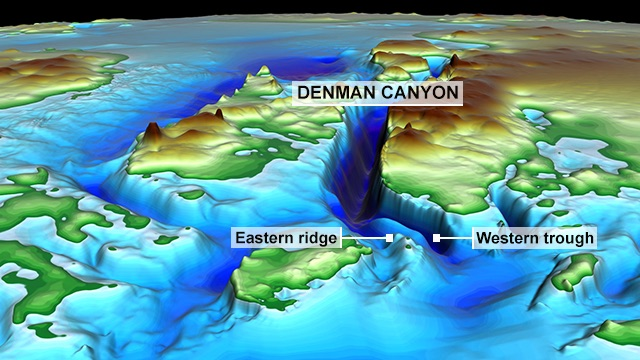 Climate change: Earth's deepest ice canyon vulnerable to melting