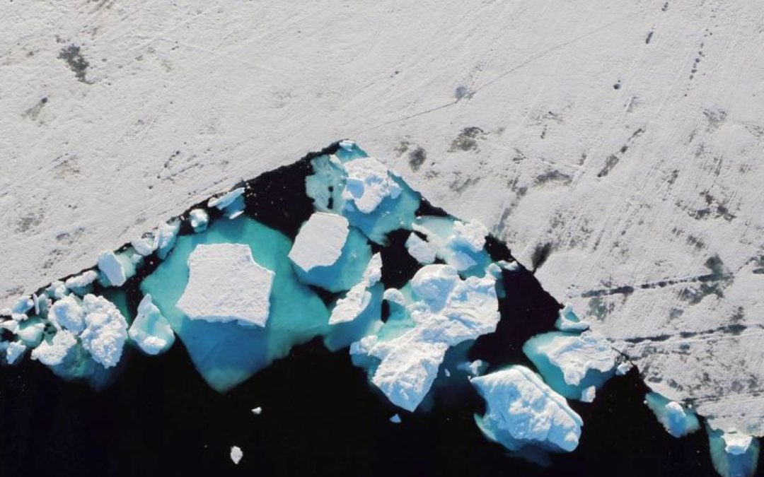 Greenland ice sheet shrinks by record amount – climate study