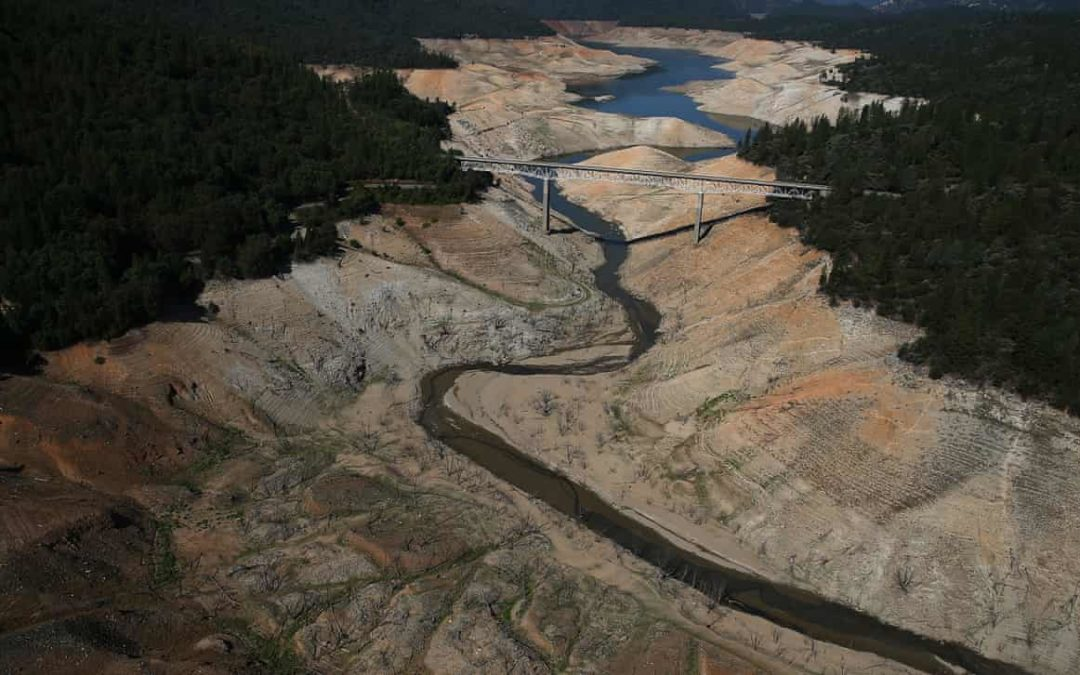 US south-west in grip of historic 'megadrought'