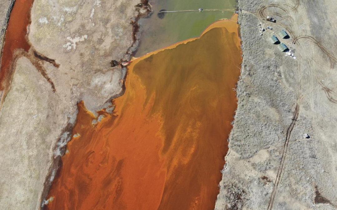 Russian Oil Spill Reaches Pristine Arctic Lake