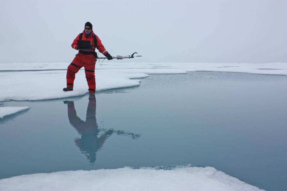 Pools of Water Atop Sea Ice in the Arctic May Lead it to Melt Away Sooner Than Expected