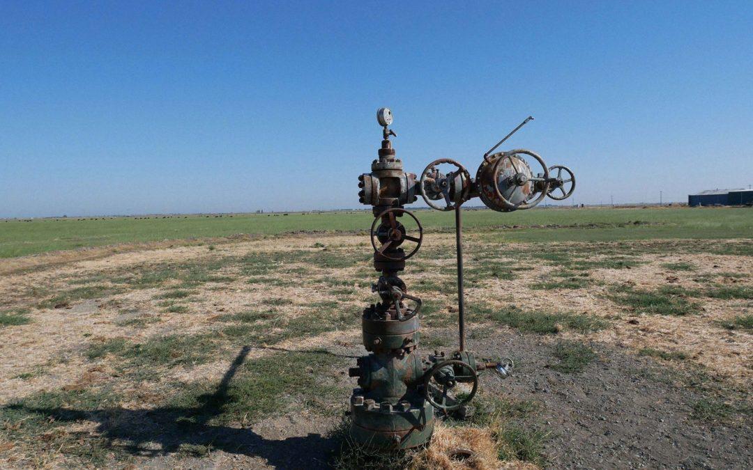 Gas well No. 095-20708, 4 miles north of Rio Vista, Calif