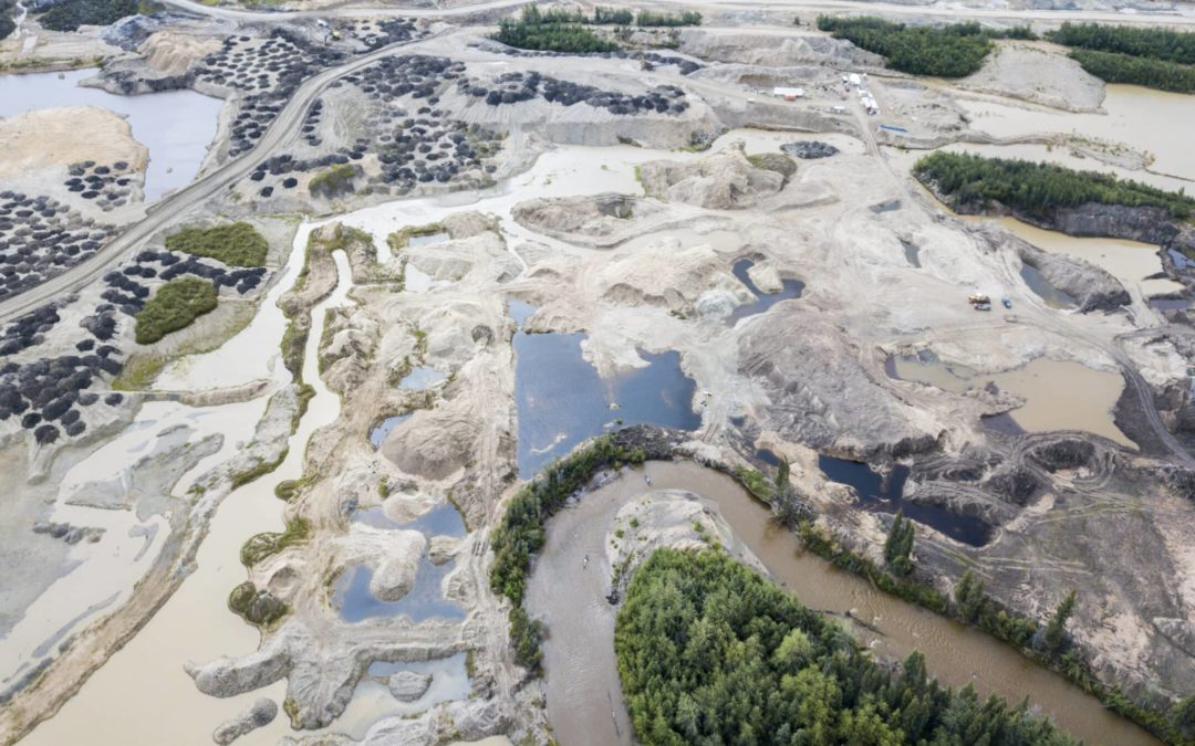 gold mining tailings ponds
