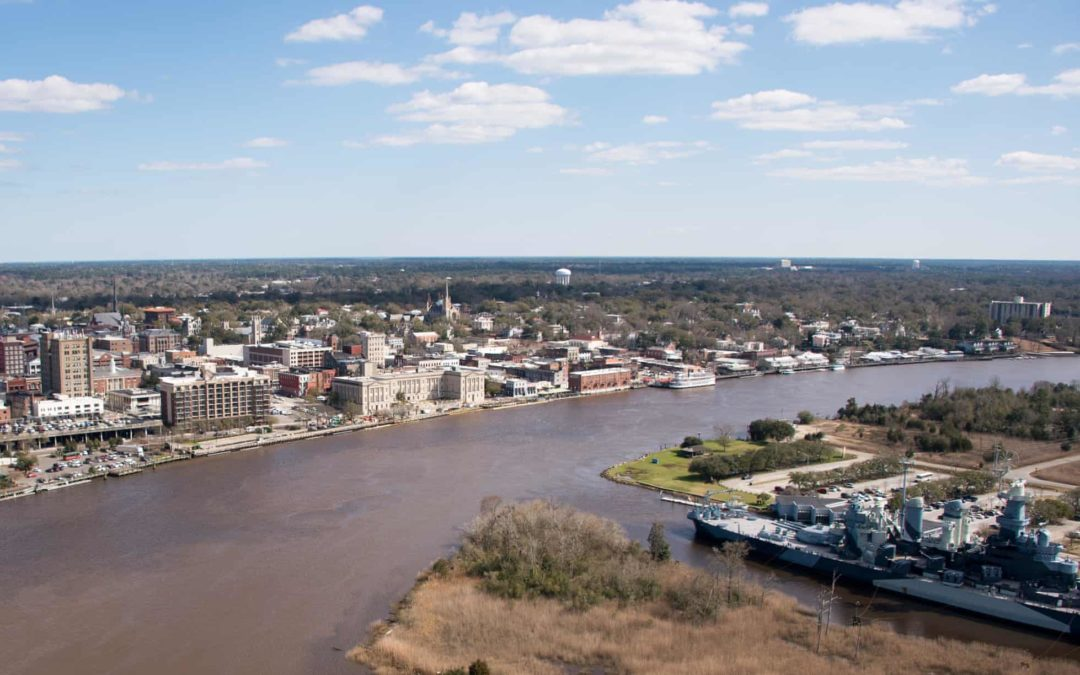 PFAS in the Cape Fear River in Wilmington, North Carolina