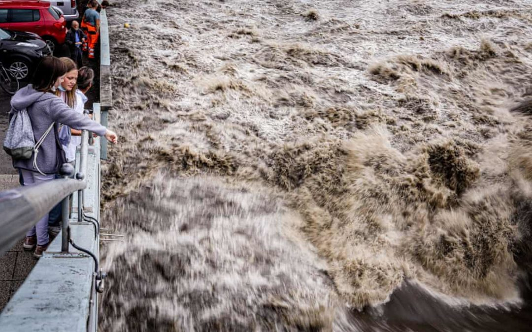 Climate scientists shocked by scale of floods in Germany
